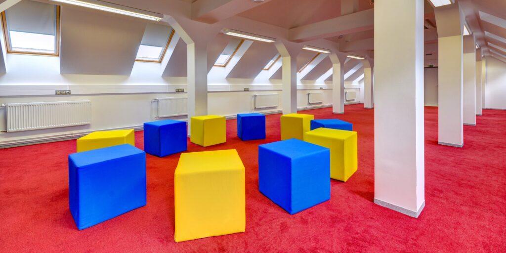 GJP - relaxační místnost