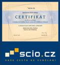 SCIO - certifikát pro školy - GJP a SOŠ